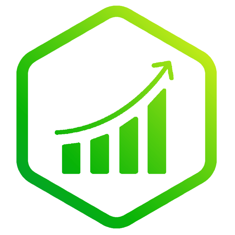 Website Wizards Green Growth Icon