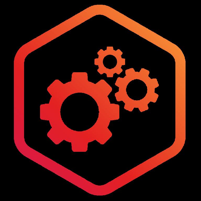 Website Wizards Orange Maintenance Icon