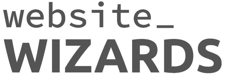 Website Wizards Dark Grey Logo